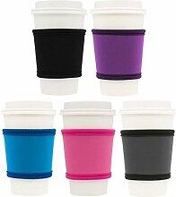 MOXIE Kaffeebecher-Hülsen – Premium Neopren