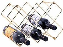 Moxita Weinregal für 10 Flaschen, Weinhalter für