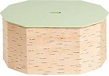 MOYA Brotkasten aus Birkenrinde - Brotdose mit