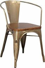 Moycor Stühle Sessel Brushed, 52x 54x 72cm