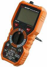 Mozusa PM18C True RMS Digital Multimeter AC/DC LCD
