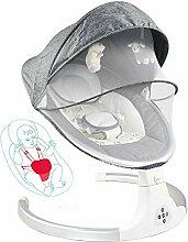 MOZX Bluetooth Elektrische Babyschaukel, Baby