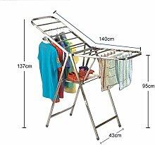 MQ&PQ Flügelform wäscheständer,Bodenständer