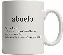 MQJJ El Abuelo Definition Becher ist das lustige