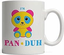 MQJJ Ich bin Pan Duh - Pansexuelles lustiges Gay