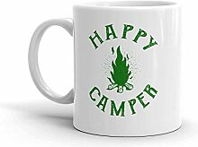 MQJJ Lustige Humor Neuheit Happy Camper Sommer