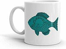 MQJJ Lustiger Humor Neuheit Fischkunst 11 Unzen