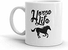 MQJJ Lustiger Humor Neuheit Horse Life Equestrian