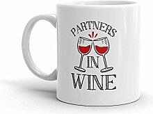 MQJJ Lustiger Humor Neuheit Partner In Wein 11