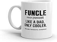 MQJJ Lustiger Humor Neuheit Spaß wie ein Vater
