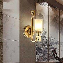 MQW Kupfer Wandlampe Nachttischlampe Schlafzimmer