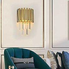 MQW Nordic Gold Kristall Wandlampe Kreative