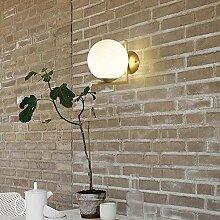 MQW Sphärische Wandlampe Moderne Minimalistische
