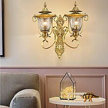MQW Wand Kupfer Wandlampe Warme Schlafzimmer