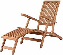 Mr. Deko Teak Deckchair Yacht Teak - Bear Chair -