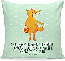 Mr. & Mrs. Panda 40x40 Kissen Fuchs Laterne - 100%