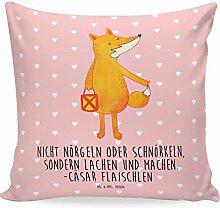 Mr. & Mrs. Panda 40x40 Kissen Fuchs Laterne -