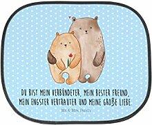 Mr. & Mrs. Panda Auto Sonnenschutz Bären Liebe - 100% handmade in Norddeutschland - Verheiratet, Geschenk Hochzeit, Geschenk, Verlobung, Hochzeitstag, Kinder, Jahrestag, Liebesbeweis, Sonnenblende, Fenster, Freund, Bären