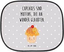 Mr. & Mrs. Panda Auto Sonnenschutz Cupcake - 100% handmade in Norddeutschland - Geschenk Koch, PKW, Cupcakes, Backen Geschenk, Küche Deko, Küche Spruch, Geschenk, Fenster, Familie, Motivation Sprüche, Muffin, Kunstfaser