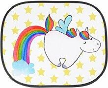 Mr. & Mrs. Panda Auto Sonnenschutz Einhorn Pegasus - 100% handmade in Norddeutschland - Einhorn, Unicorn, Regenbogen, Spielen, Realität, Glitzer, Erwachsenwerden, Einhornliebe Sonnenschutz, Auto, Sonnenblende, Fenster, PKW, Kinder, Familie, Geschenk, Rücksitz