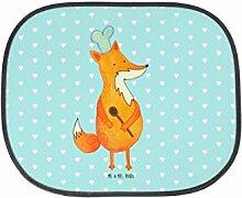 Mr. & Mrs. Panda Auto Sonnenschutz Fuchs Koch - 100% handmade in Norddeutschland - Füchse, Sonnenblende, PKW, Bäcker, Rücksitz, Fuchs, witzig, Köche, Kinder, Küche Deko, Sonnenschutz, Fenster