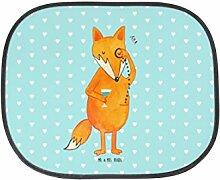 Mr. & Mrs. Panda Auto Sonnenschutz Fuchs Lord - 100% handmade in Norddeutschland - Fuchs, Füchse, tröstende Worte, Spruch lustig, Liebeskummer Geschenk, Motivation Spruch, Problemlösung Sonnenschutz, Auto, Sonnenblende, Fenster, PKW, Kinder, Familie, Geschenk, Rücksitz