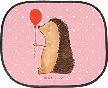Mr. & Mrs. Panda Auto Sonnenschutz Igel mit Luftballon - 100% handmade in Norddeutschland - Kunstfaser, PKW, Kinder, Herzlichen Glückwunsch, Auto, Familie, Geburtstagskind, Igel, Rücksitz, Geschenk, Glückwunsch, Happy Birthday