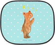 Mr. & Mrs. Panda Auto Sonnenschutz Verliebter Bär - 100% handmade in Norddeutschland - Kunstfaser, Verliebte, Geschenk, PKW, Sonnenschutz, Familie, Kinder, to the moon and back, Fenster, Rücksitz, Bär, Auto