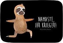 Mr. & Mrs. Panda Badvorleger Faultier Yoga -