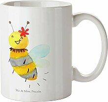 Mr. & Mrs. Panda Becher, Büro, Tasse Biene Blume