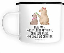 Mr. & Mrs. Panda Becher, Metalltasse, XL Emaille