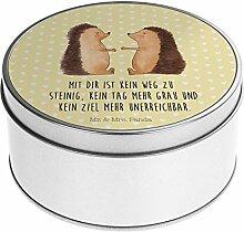 Mr. & Mrs. Panda Blechdose rund Igel Liebe -