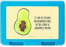 Mr. & Mrs. Panda Brotdose Avocado mit Kern - 100% handmade in Norddeutschland - Schule, Avokado, Dose, Avocadokern, Schülerin, Frühstück, Kunststoff, Pflanze, Schüler, Spruch Leben , Geschenk, Vesperdose