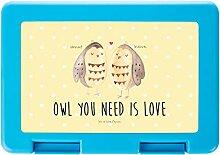 Mr. & Mrs. Panda Brotzeitbox, Snackbox, Brotdose