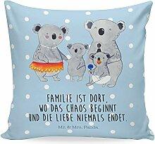 Mr. & Mrs. Panda Dekokissen, Kopfkissen, 40x40