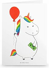 Mr. & Mrs. Panda Geburtstagskarte, Hochzeitskarte,