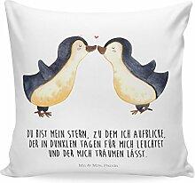 Mr. & Mrs. Panda Kissenbezug, Dekokissen, 40x40