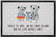 Mr. & Mrs. Panda Motivfußmatte, Türvorleger, 40