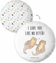 Mr. & Mrs. Panda Plüschkissen Otter