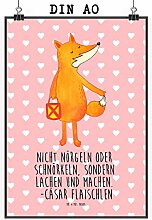 Mr. & Mrs. Panda Poster DIN A0 Fuchs Laterne -