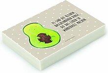 Mr. & Mrs. Panda Radiergummi Avocado mit Kern - 100% handmade in Norddeutschland - Avocado, Avokado, Avocadokern, Kern, Pflanze, Spruch Leben Radiergummi, Radierer