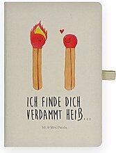 Mr. & Mrs. Panda Schreibheft, Schreibbuch, DIN A4