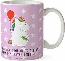 Mr. & Mrs. Panda Tasse Einhorn Luftballon - 100%