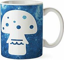 Mr. & Mrs. Panda Tasse Fliegenpilz - 100% handmade in Norddeutschland - Fliegenpilz, Pilz, Glückspilz Tasse, Becher, Kaffeetasse, Geschenk, Teetasse, Tee, Cup, Schenken, Frühstück Fliegenpilz, Pilz, Glückspilz
