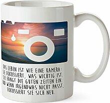 Mr. & Mrs. Panda Tasse Kamera - 100% handmade in Norddeutschland - Kamera, Fotoapperat, Foto Tasse, Tassen, Becher, Kaffeetasse, Kaffee, Geschenkidee, Geschenk, Tee, Teetasse, Tee, Cup, Schenken, Frühstück Kamera, Fotoapperat, Foto