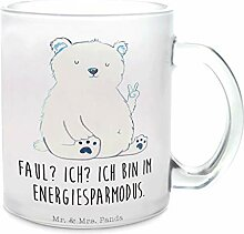 Mr. & Mrs. Panda Tasse, Teeglass, Glas Teetasse