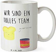 Mr. & Mrs. Panda Tasse Toast & Marmelade - 100% handmade in Norddeutschland - Toast , Marmelade, Dreamteam, süße Postkarte, süß, Küche Deko, Küche Spruch, Frühstück Einladung, Brot, Toastbrot, Tasse, Tassen, Becher, Kaffeetasse, Kaffee, Geschenkidee, Geschenk, Tee, Teetasse, Tee, Cup, Schenken, Frühstück Toast , Marmelade, Dreamteam, süße Postkarte, süß, Küche Deko, Küche Spruch, Frühstück Einladung, Brot, Toastbrot,
