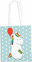 Mr. & Mrs. Panda Tragetasche Einhorn Luftballon -