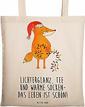 Mr. & Mrs. Panda Tragetasche Fuchs Weihnachten -