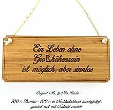 Mr. & Mrs. Panda Türschild Stadt Großhöhenrain Classic Schild - Gravur,Graviert Türschild,Tür Schild,Schild, Fan, Fanartikel, Souvenir, Andenken, Fanclub, Stadt, Mitbringsel